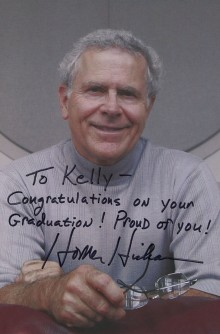 Autographed Homer Hickam 8″ x 10″ Photograph